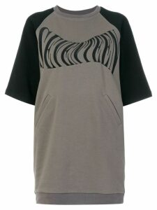 KTZ Seventeen sweatshirt dress - Grey
