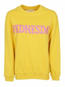 Alberta Ferretti Wednesday Patch Sweatshirt