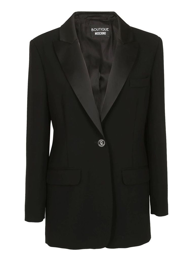 Boutique Moschino Single Button Blazer