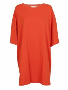 Erika Cavallini Oversized T-shirt Dress