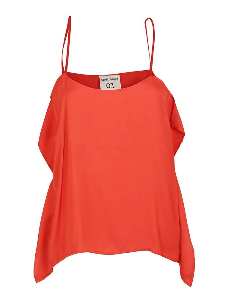 Semicouture Flared Top