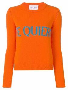 Alberta Ferretti Te Quiero sweater - Orange