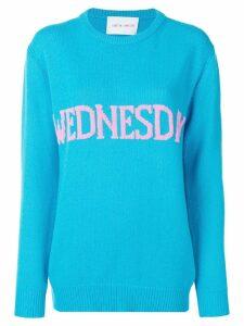 Alberta Ferretti Wednesday sweater - Blue