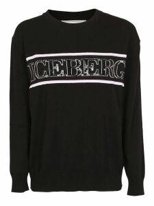 Iceberg Logo Knitted Sweater