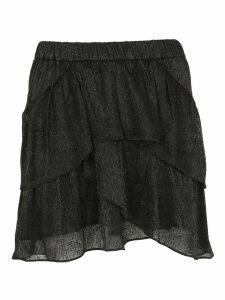 Iro Shimmering Flounced Skirt