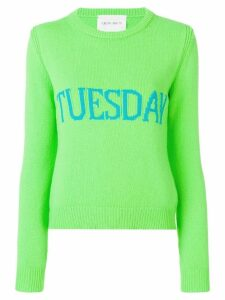 Alberta Ferretti Tuesday sweater - Green