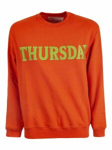 Alberta Ferretti Embroidered Jersey Sweater