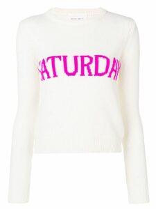 Alberta Ferretti Saturday sweater - White