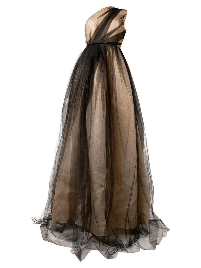 Alex Perry Alicia gown - Neutrals
