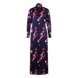Sophie Cameron Davies - Rose Silk Maxi Dress