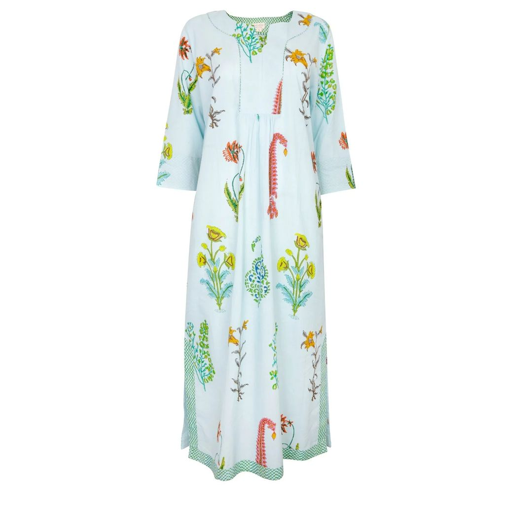 GTNight - Leila Navy Silk Kimono