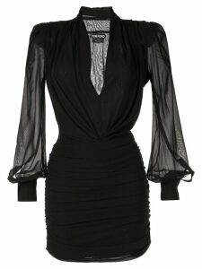 Tom Ford fitted mini dress - Black