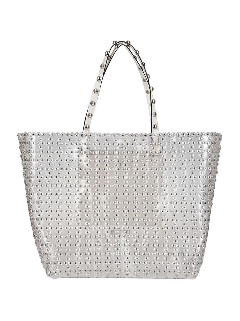 Red Valentino Embellished Stud Tote