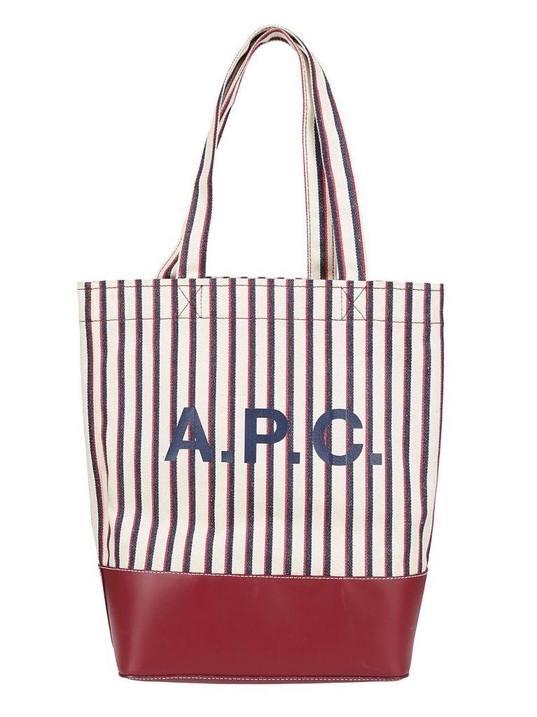 A.p.c. Logo Tote