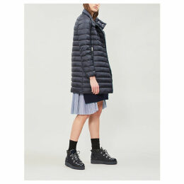Berlin quilted shell coat