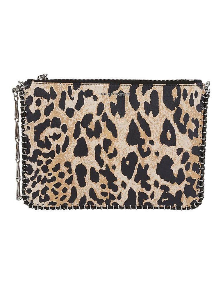 Paco Rabanne Leopard Shoulder Bag