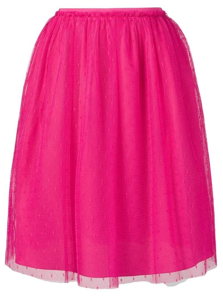 Red Valentino high waisted tulle skirt - Pink