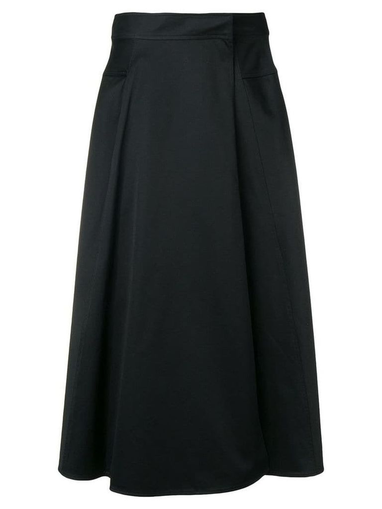 Calvin Klein tailored midi skirt - Black