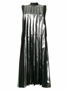 Marni pleated midi dress - Black