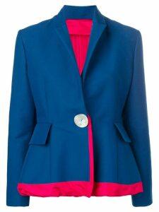 Marni peplum blazer - Blue