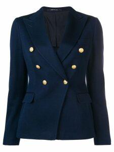 Tagliatore classic double-breasted blazer - Blue