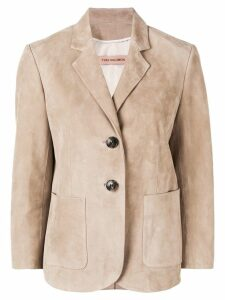 Yves Salomon leather blazer - Neutrals