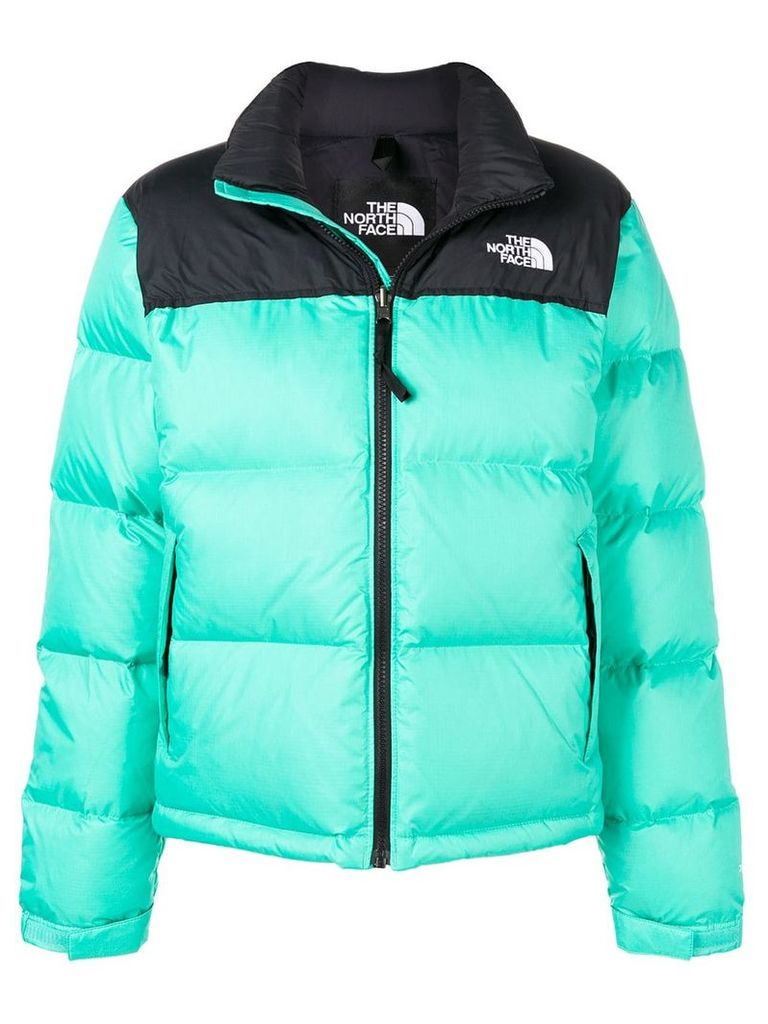 The North Face logo puffer jacket - Green