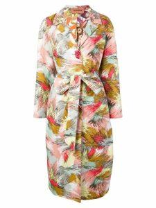 Missoni printed shirt dress - Pink