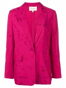 Equipment star pattern blazer jacket - PINK