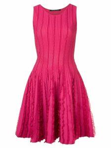Antonino Valenti ruffle details dress - Pink