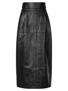 Marc Jacobs high-waisted midi skirt - Black