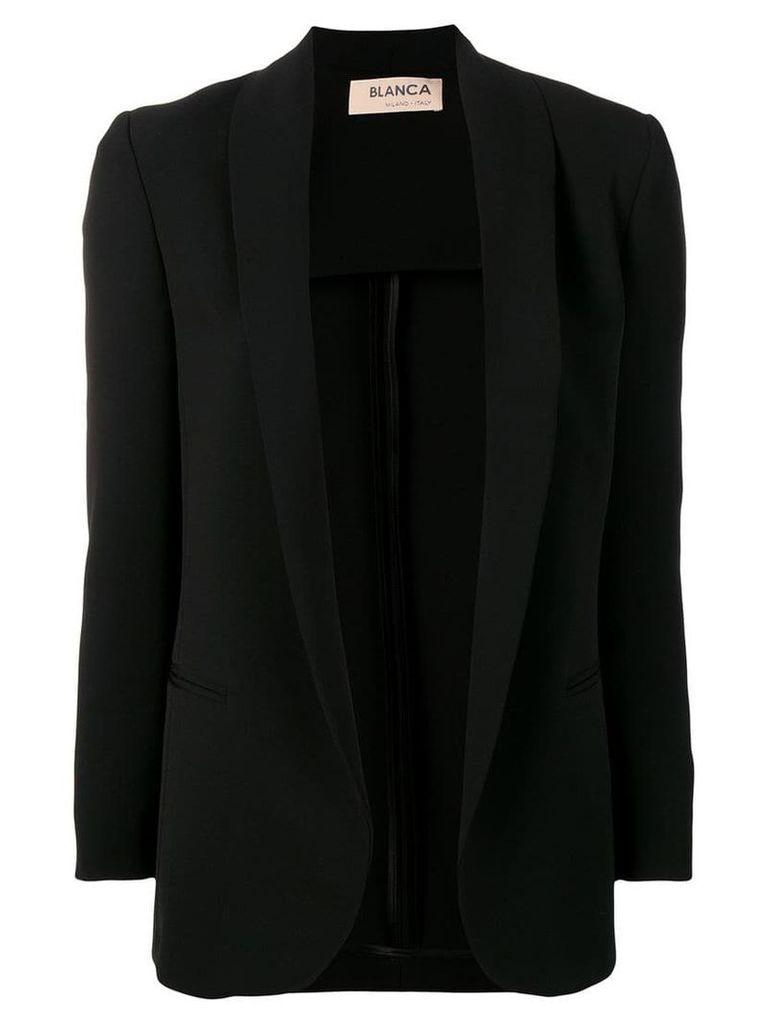 Blanca open blazer - Black
