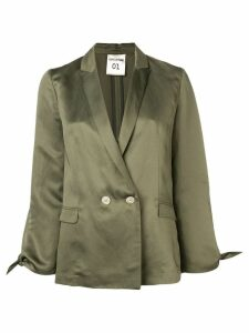 Semicouture double-breasted blazer - Green