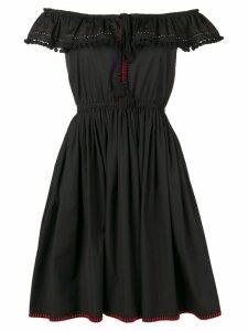 Miu Miu off the shoulder dress - Black