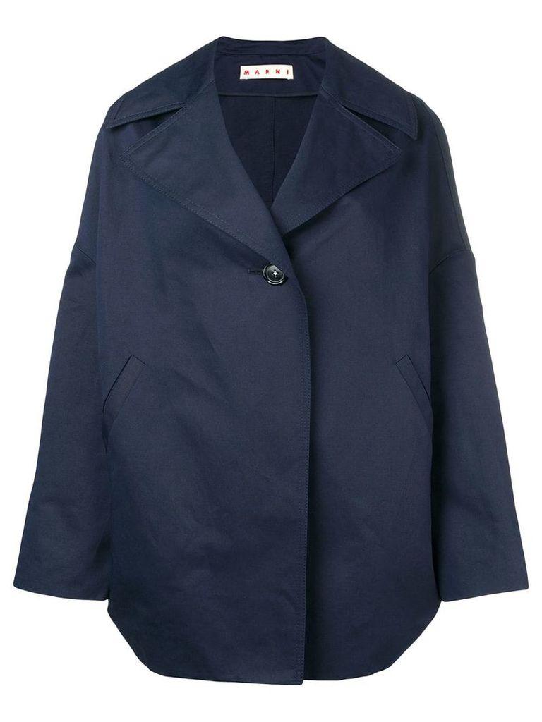 Marni oversized jacket - Blue