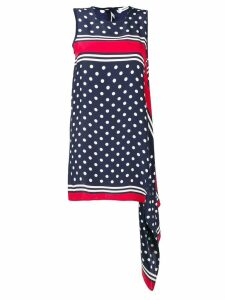 P.A.R.O.S.H. polka dot mini dress - Blue