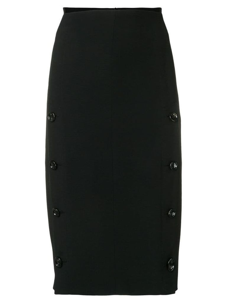 Joseph side buttons pencil skirt - Black