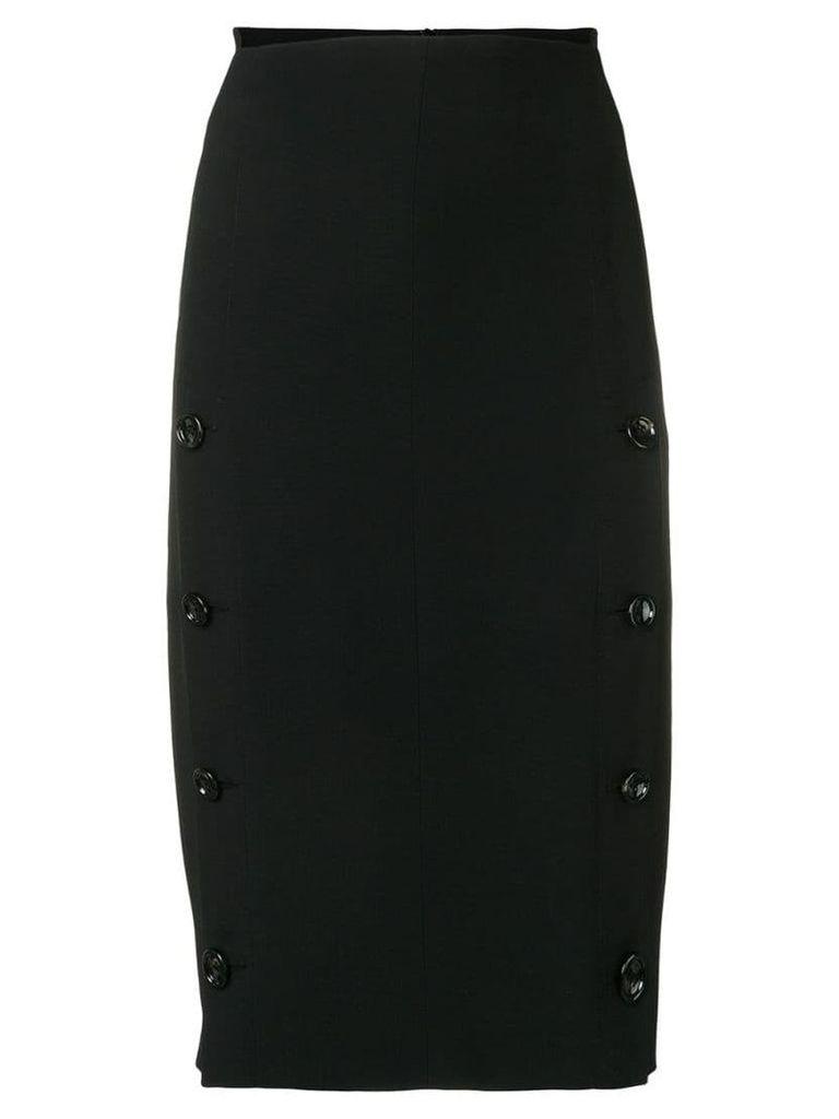 Joseph side buttons pencil skirt - Black