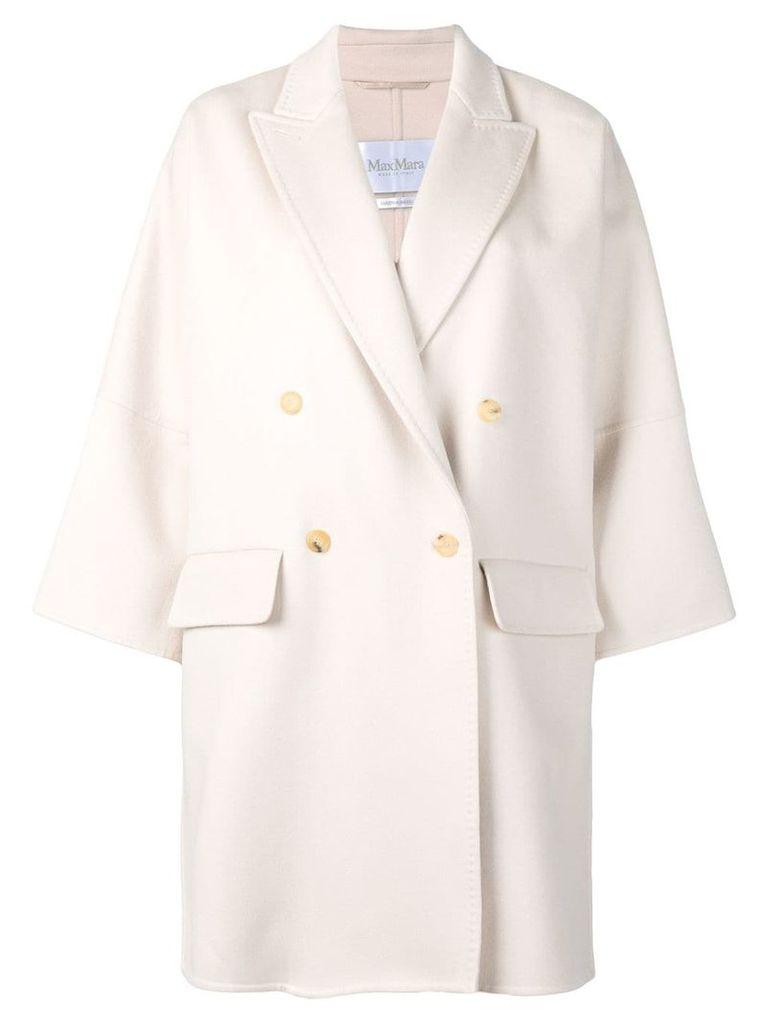 Max Mara double breasted coat - Neutrals