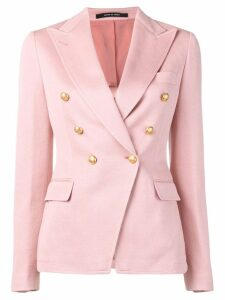 Tagliatore double breasted blazer - Pink