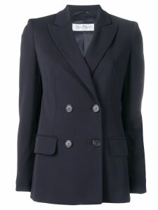 Max Mara double breasted blazer jacket - Blue