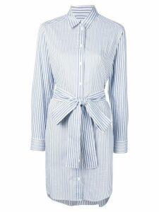 Michael Michael Kors striped shirt dress - Blue