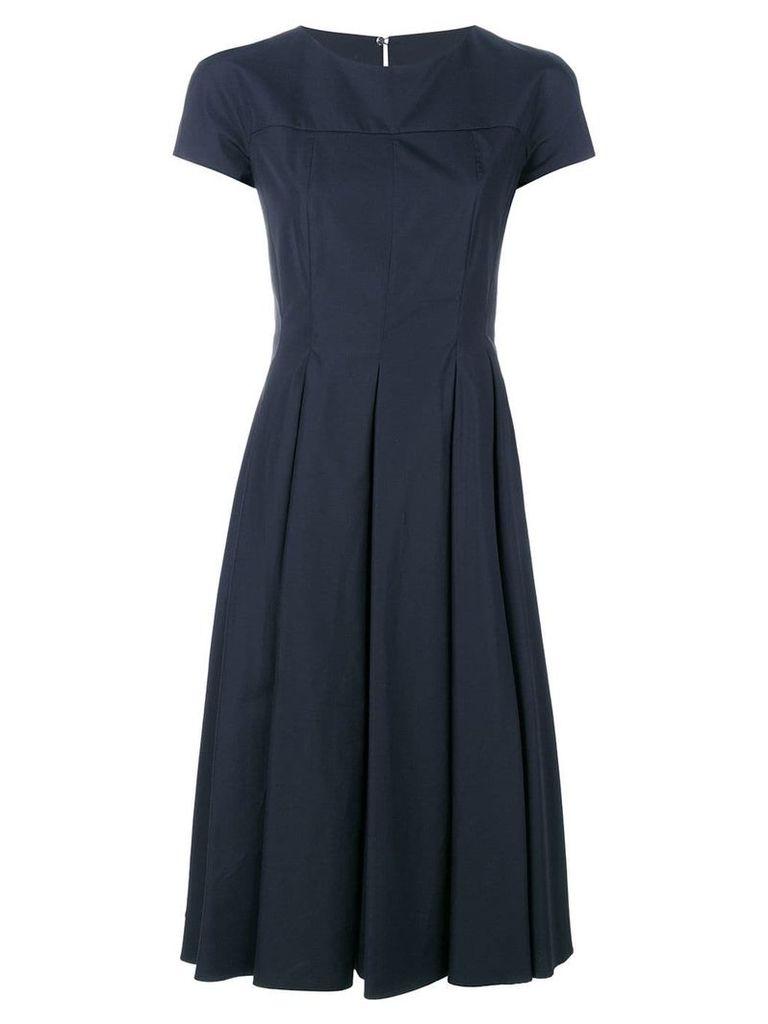 Aspesi flared dress - Blue