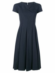 Aspesi flared dress - Blue