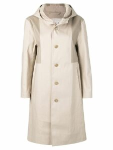 Mackintosh Putty & Fawn Bonded Cotton Hooded Coat LR-090/CB - Neutrals