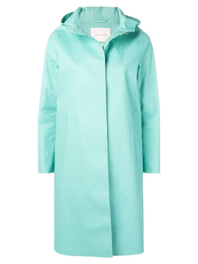 Mackintosh Cascade Bonded Cotton Hooded Coat LR-021 - Green