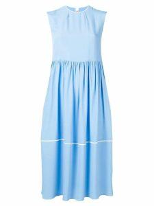 Marni sleeveless midi dress - Blue