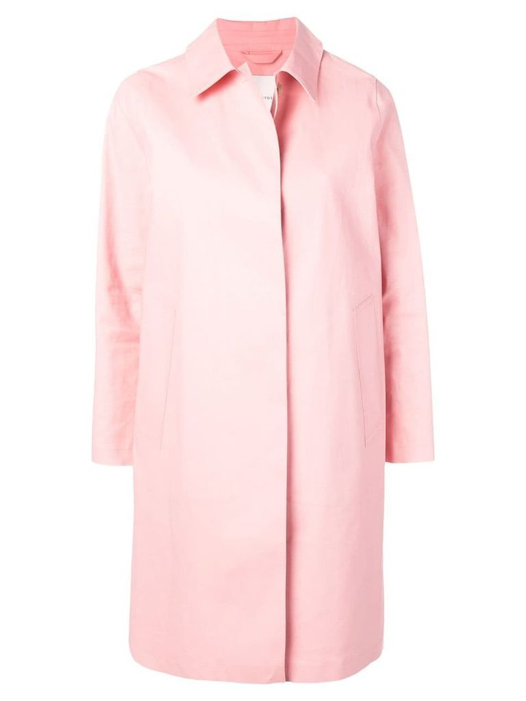 Mackintosh Pink Bonded Cotton Coat LR-020