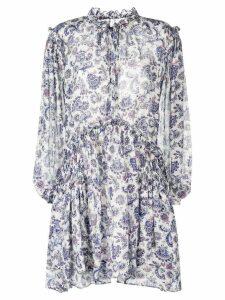 Isabel Marant Nydia printed dress - White