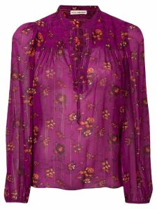 Ulla Johnson floral print blouse - Purple